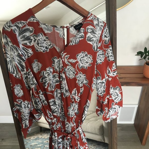 Who What Wear Pants - Floral Romper